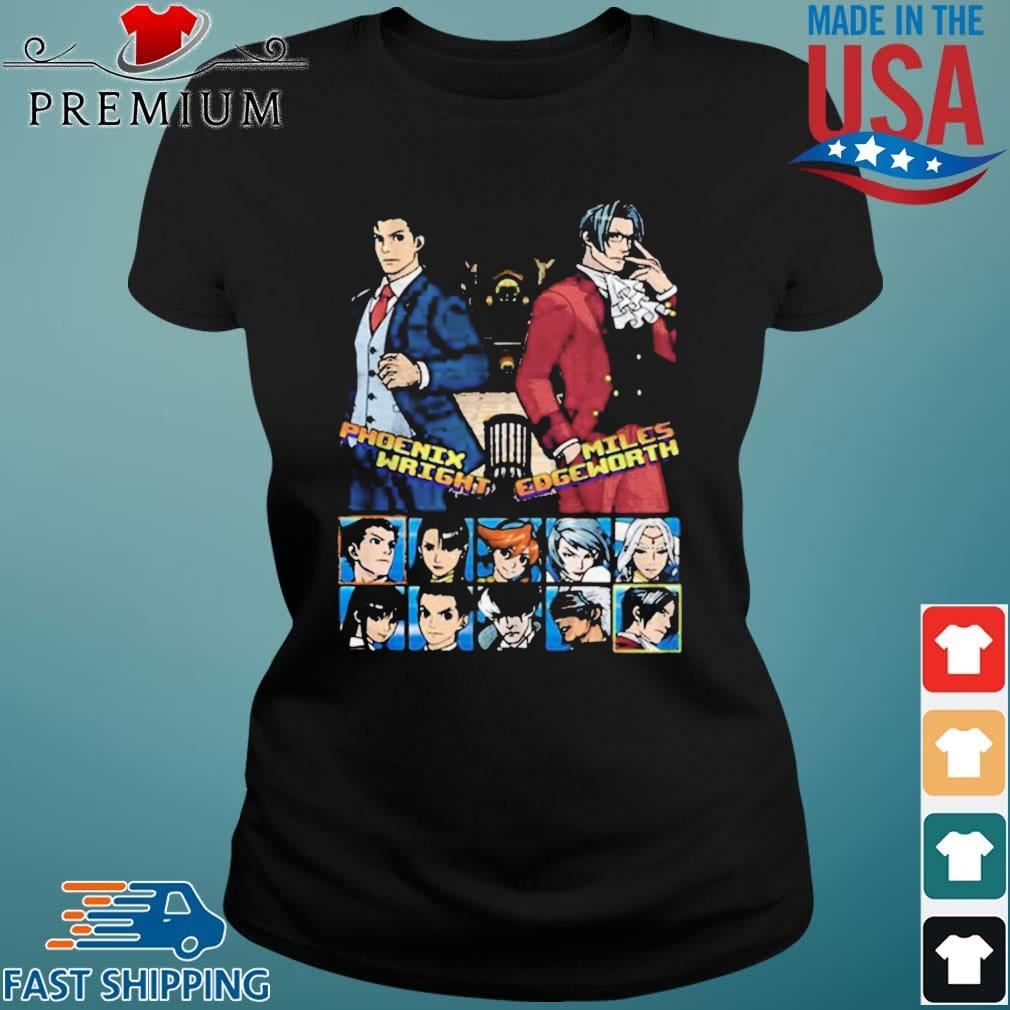 Ace attorney phoenix wright and miles edgeworth charcoal s Ladies den