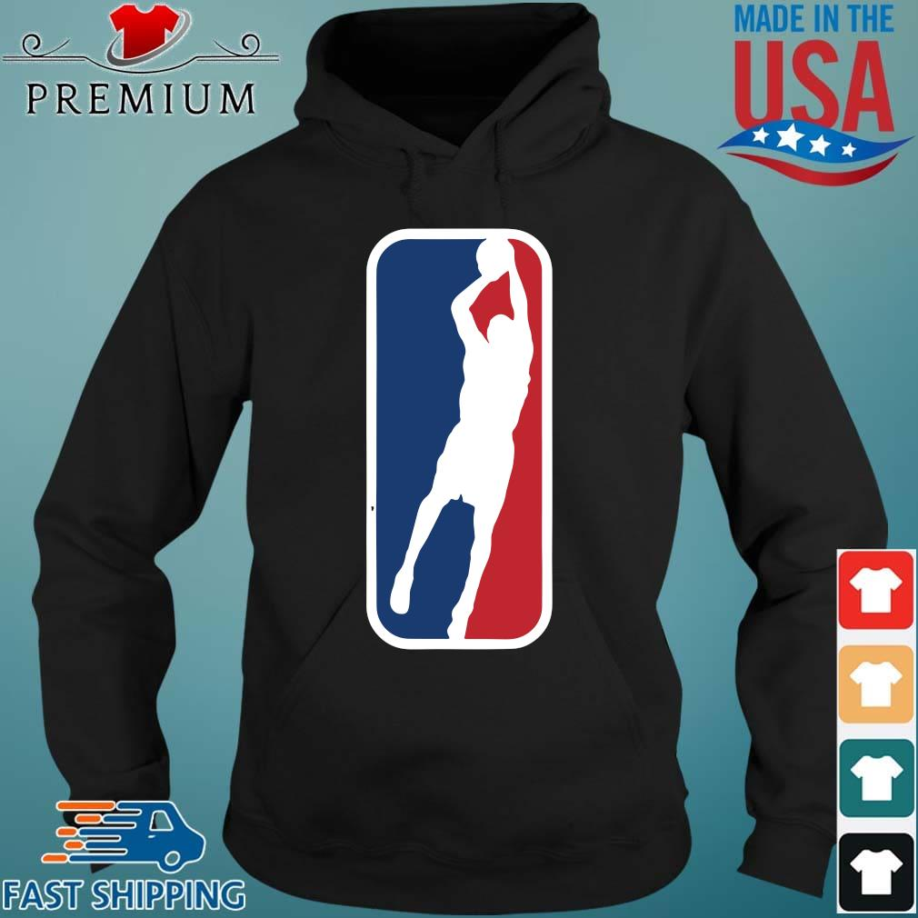 Basketball NBA Logo Shirt Hoodie den