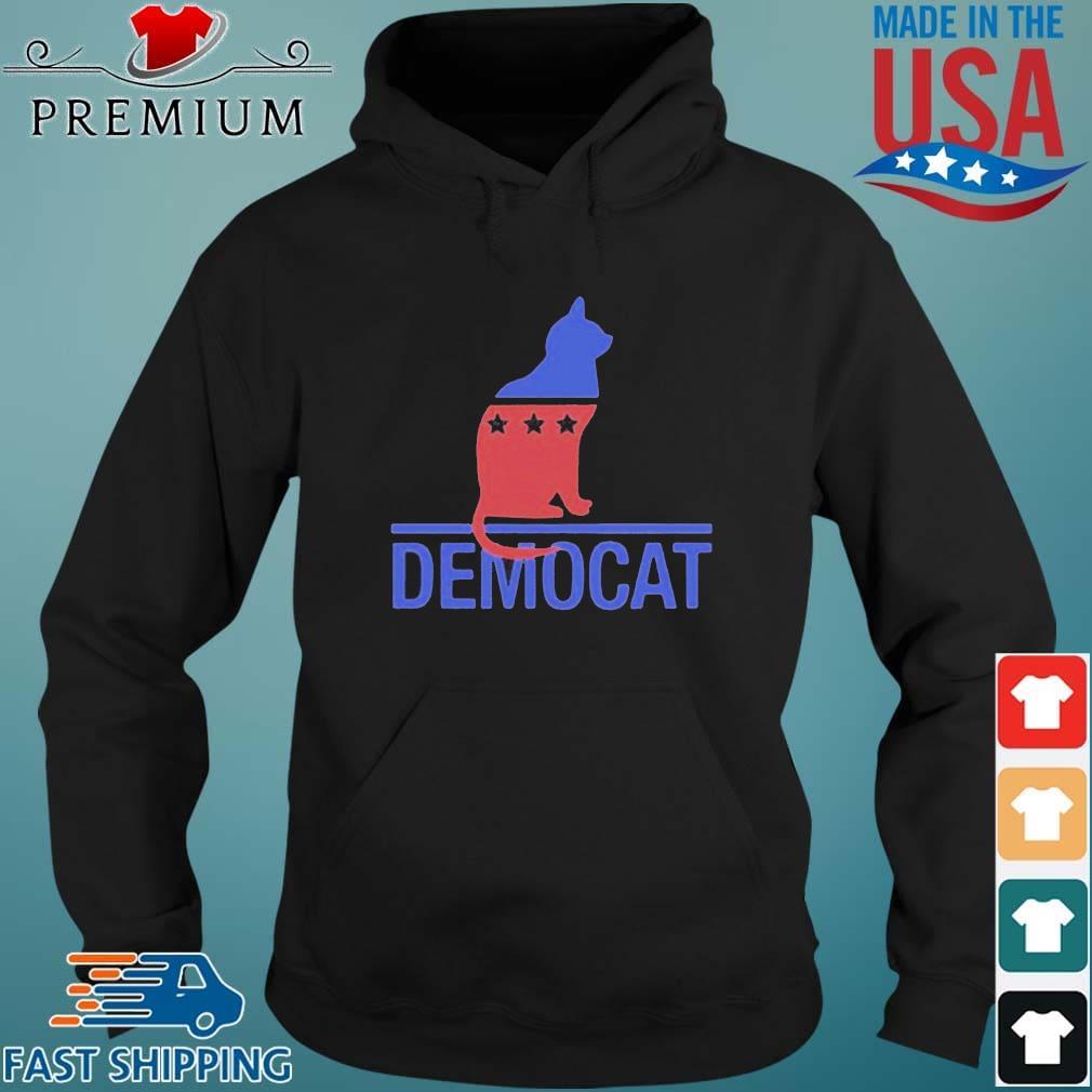 Cat Democat Logo Shirt Hoodie den