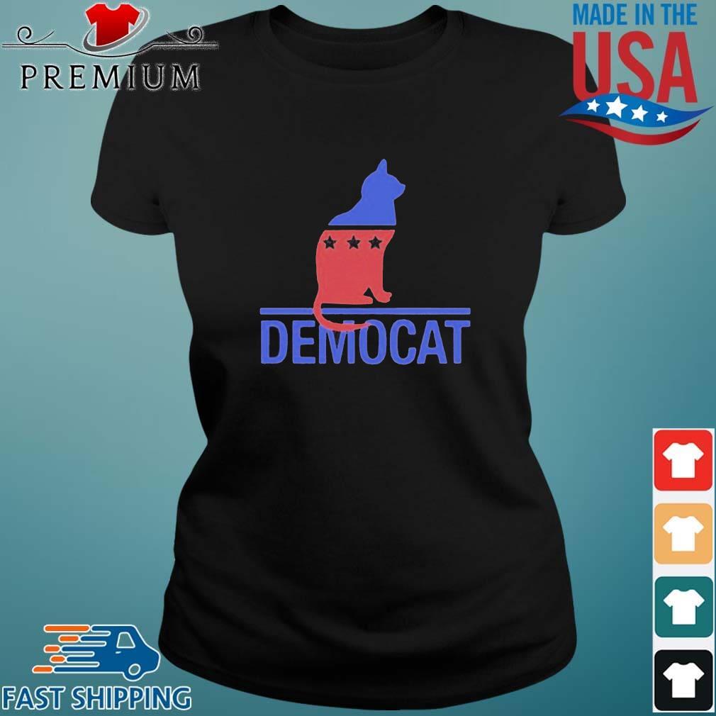 Cat Democat Logo Shirt Ladies den