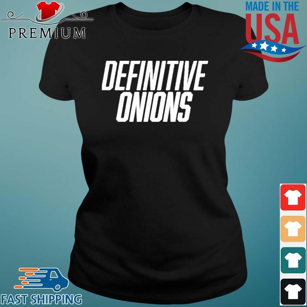 Definitive Onions Shirt Ladies den