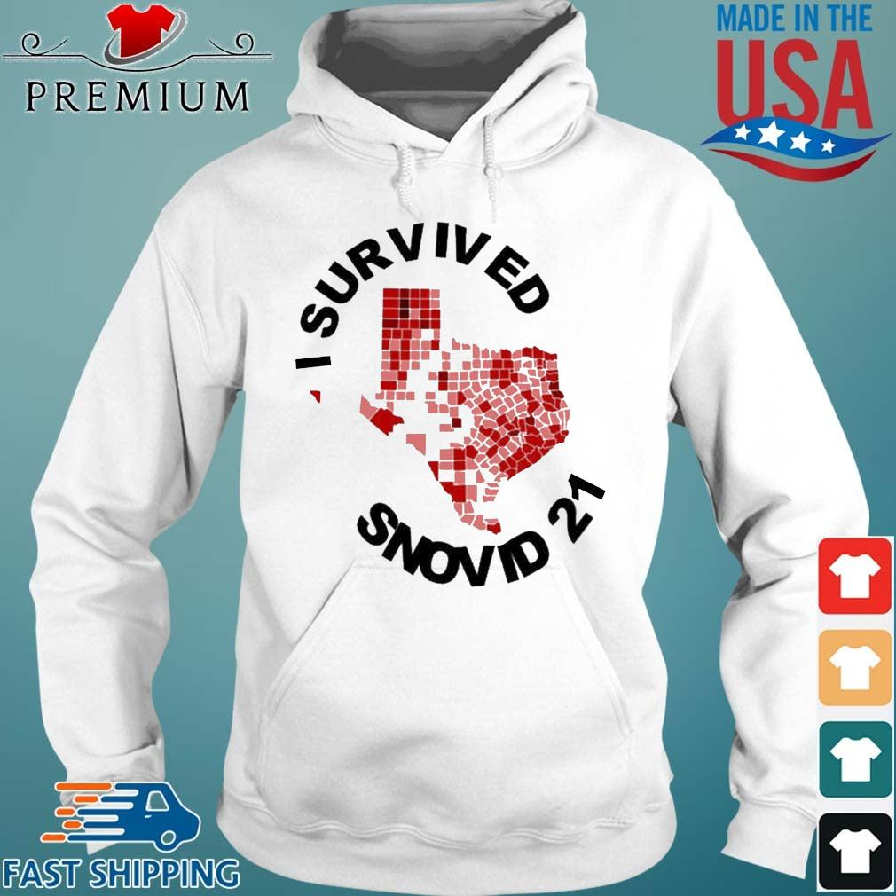 I Survived Snovid 2021 Texas Vote Shirt Hoodie trang
