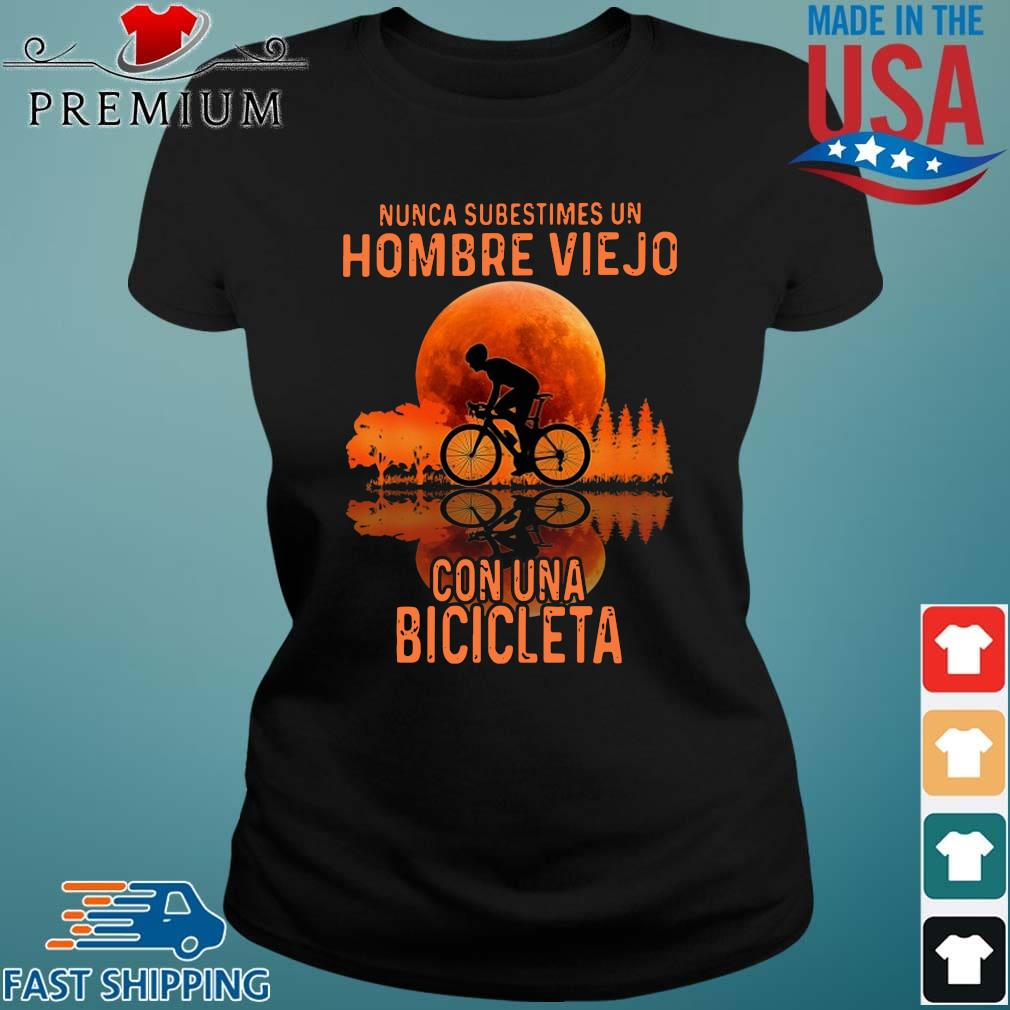 Nunca subestimes un hombre viejo con una bicicleta sunset Ladies den