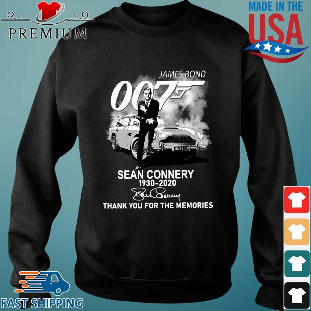 Official James Bond 007 Sean Connery 1930-2020 thank you for the memories signature Sweater den