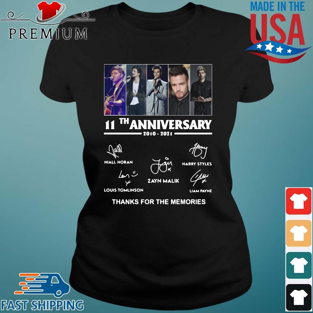 One Direction 11th anniversary 2010 2021 thanks for the memories signatures Ladies den