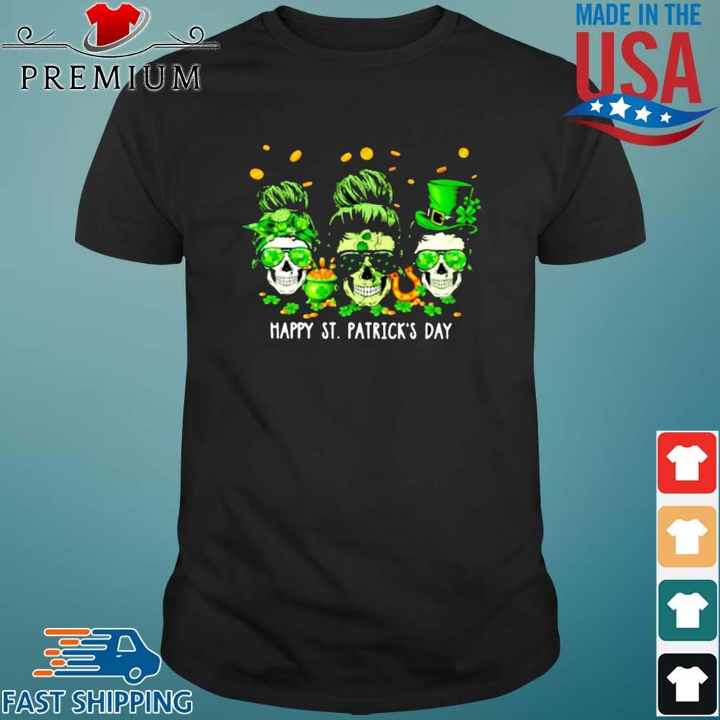 Skull Happy St Patrick's Day Shirt
