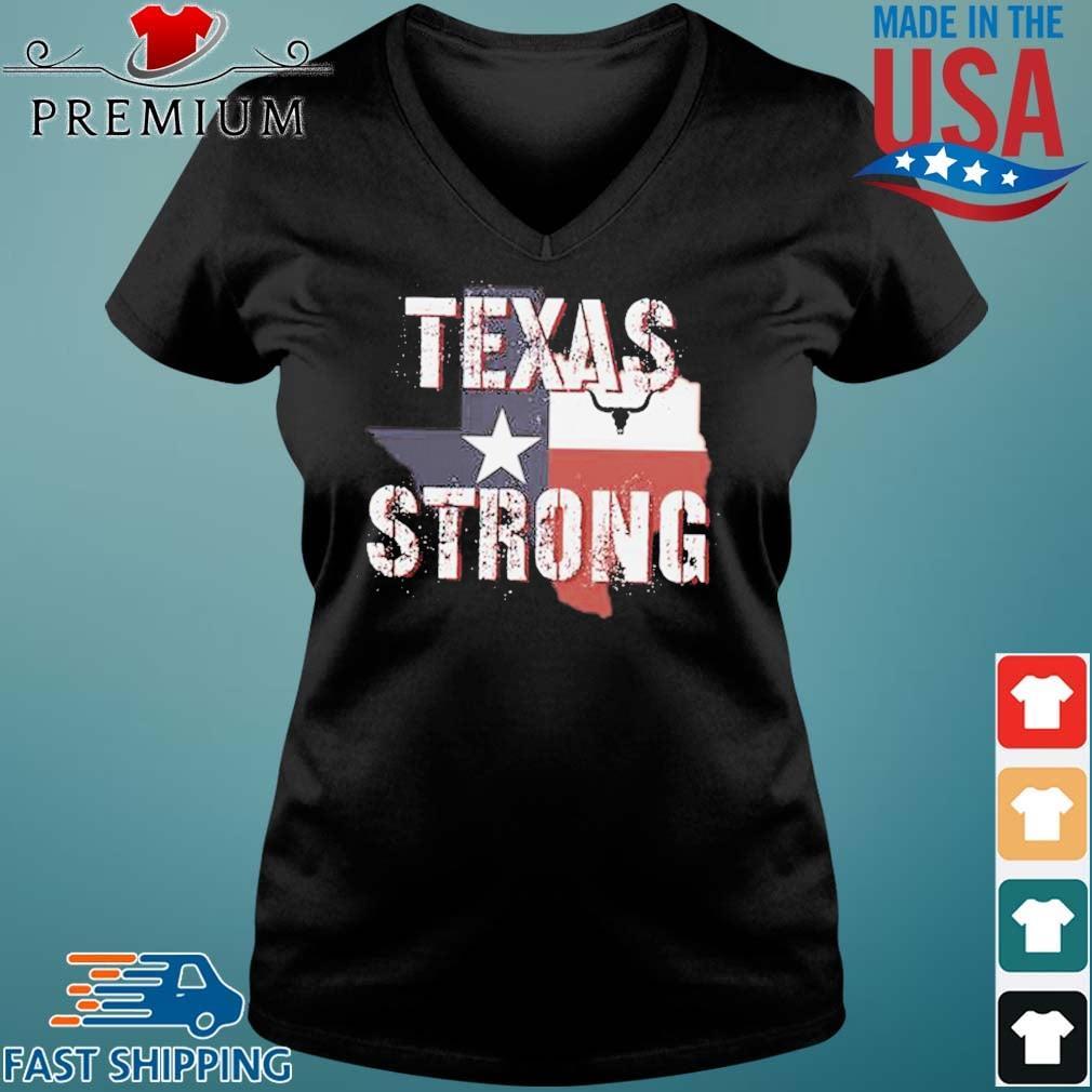 Texas Flag Strong 2021 Shirt Vneck den