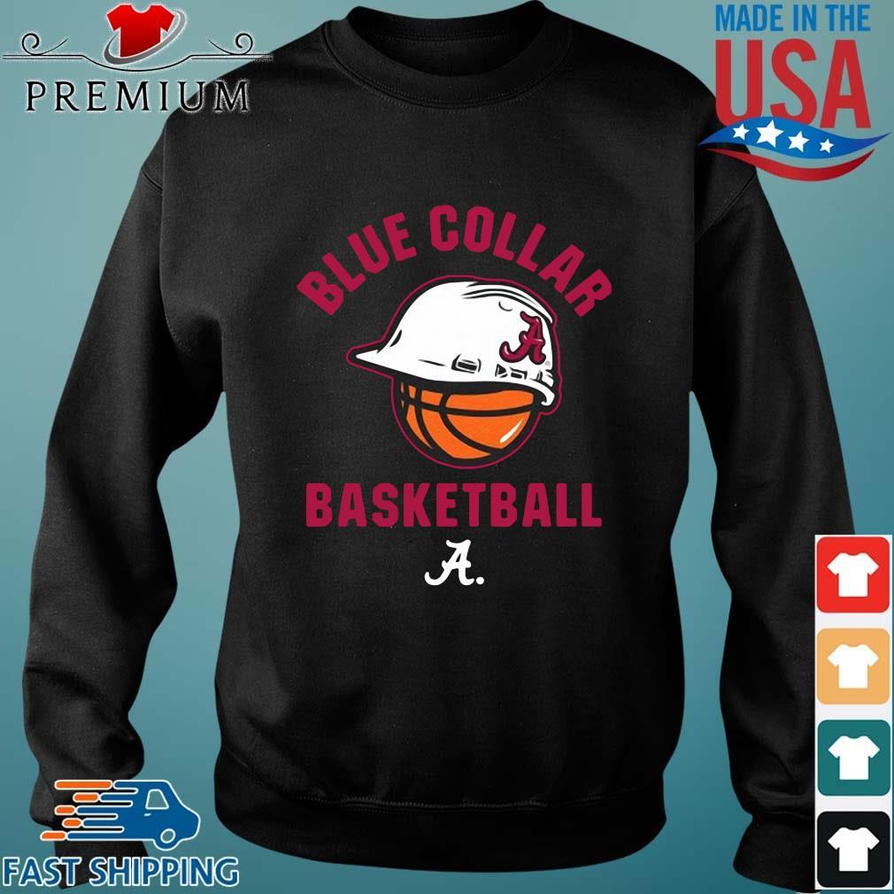 Alabama Crimson Tide blue collar basketball Sweater den