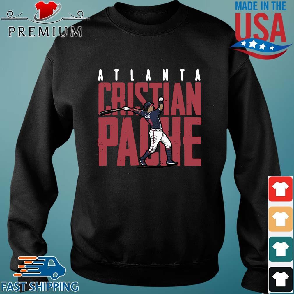 Atlanta Rristian Pache baseball Sweater den