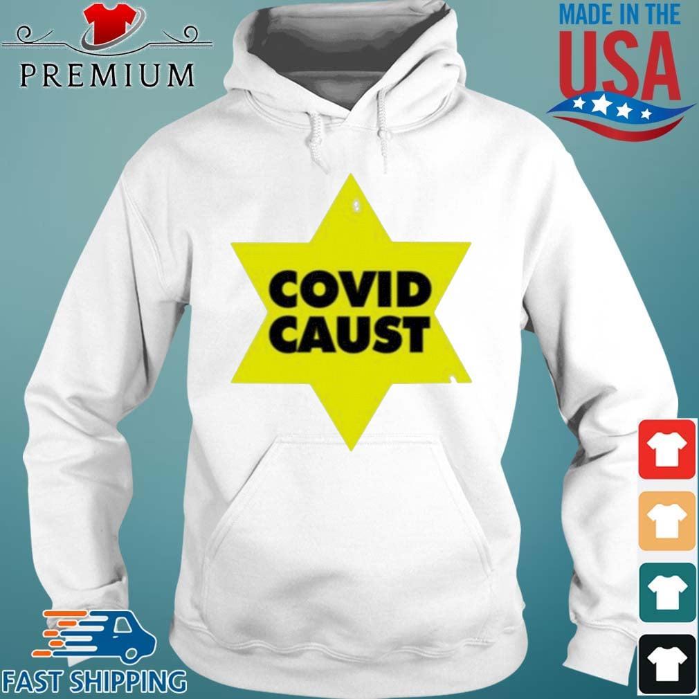 Covid Caust Shirt Hoodie trang