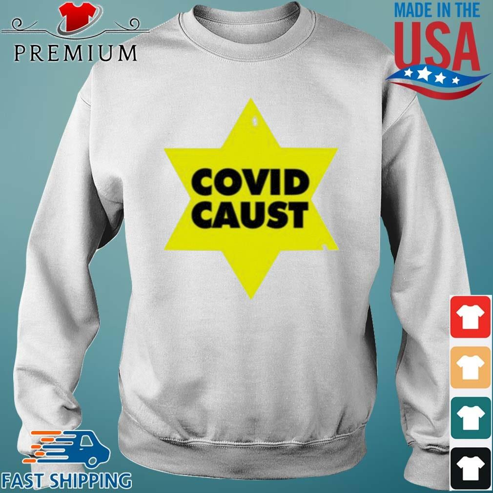 Covid Caust Shirt Sweater trang