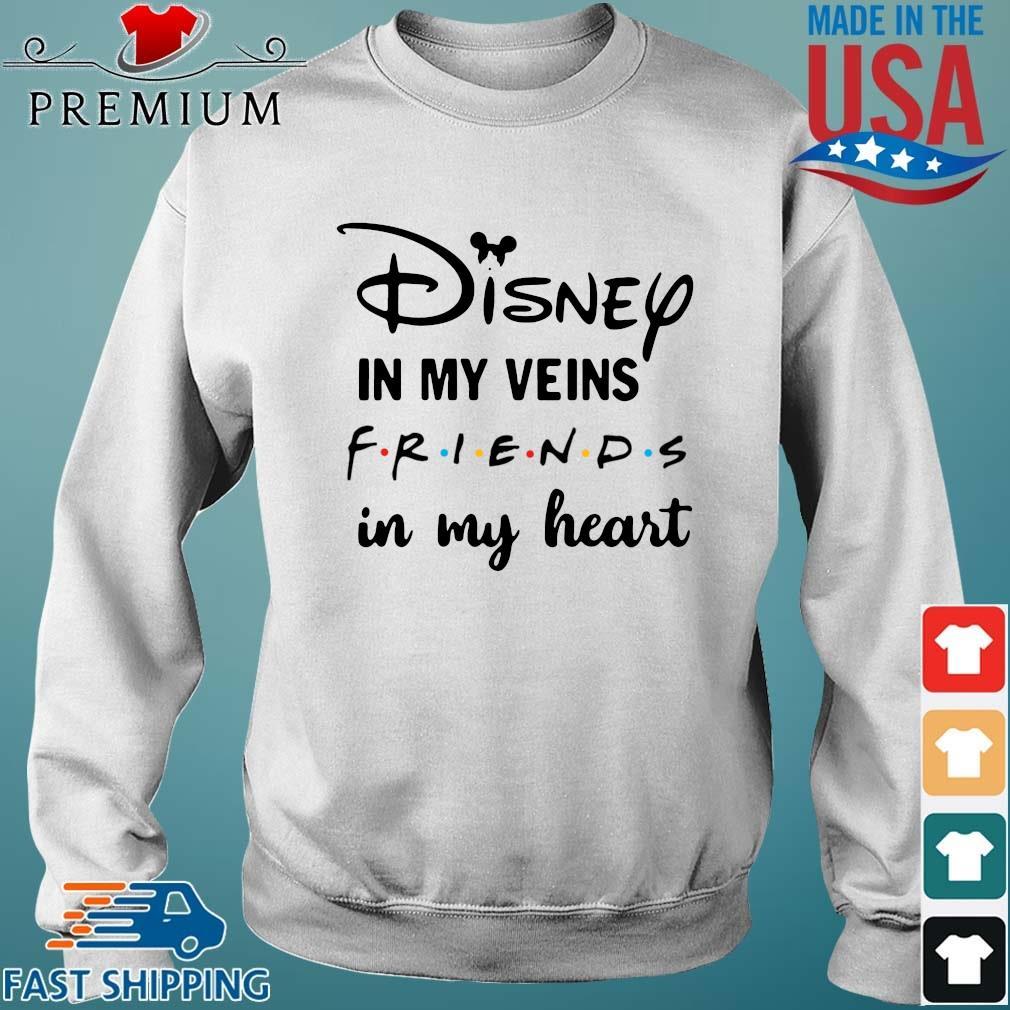Disney in my veins friends in my heart Sweater trang