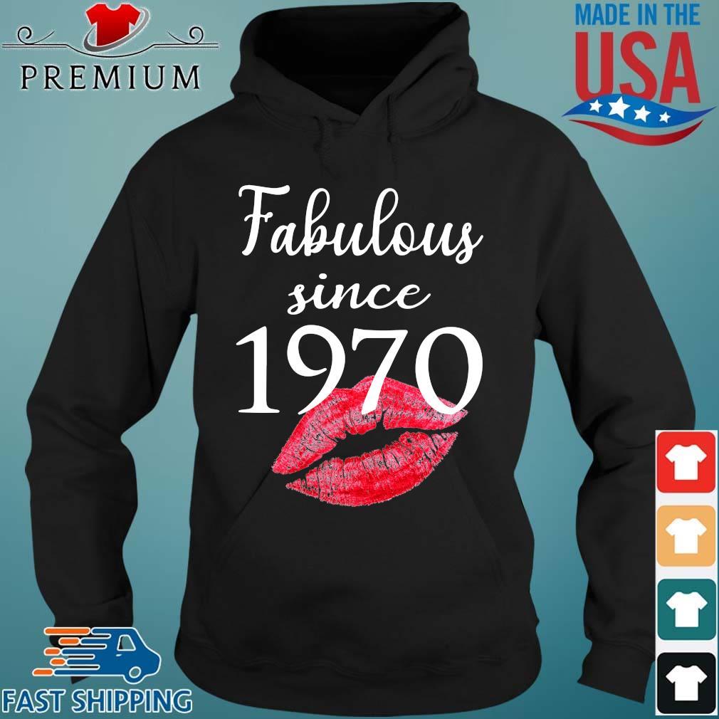 Fabulous since 1970 lips Hoodie den