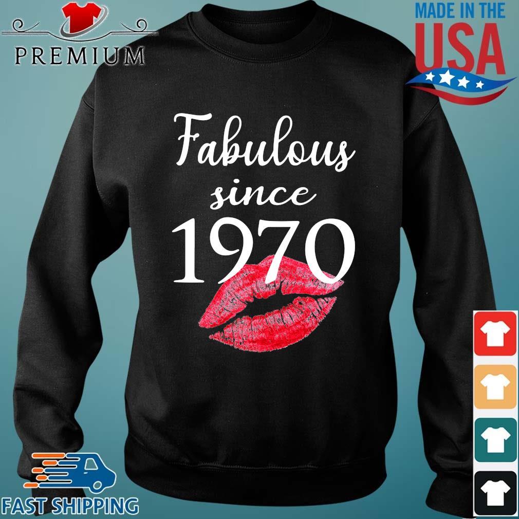 Fabulous since 1970 lips Sweater den