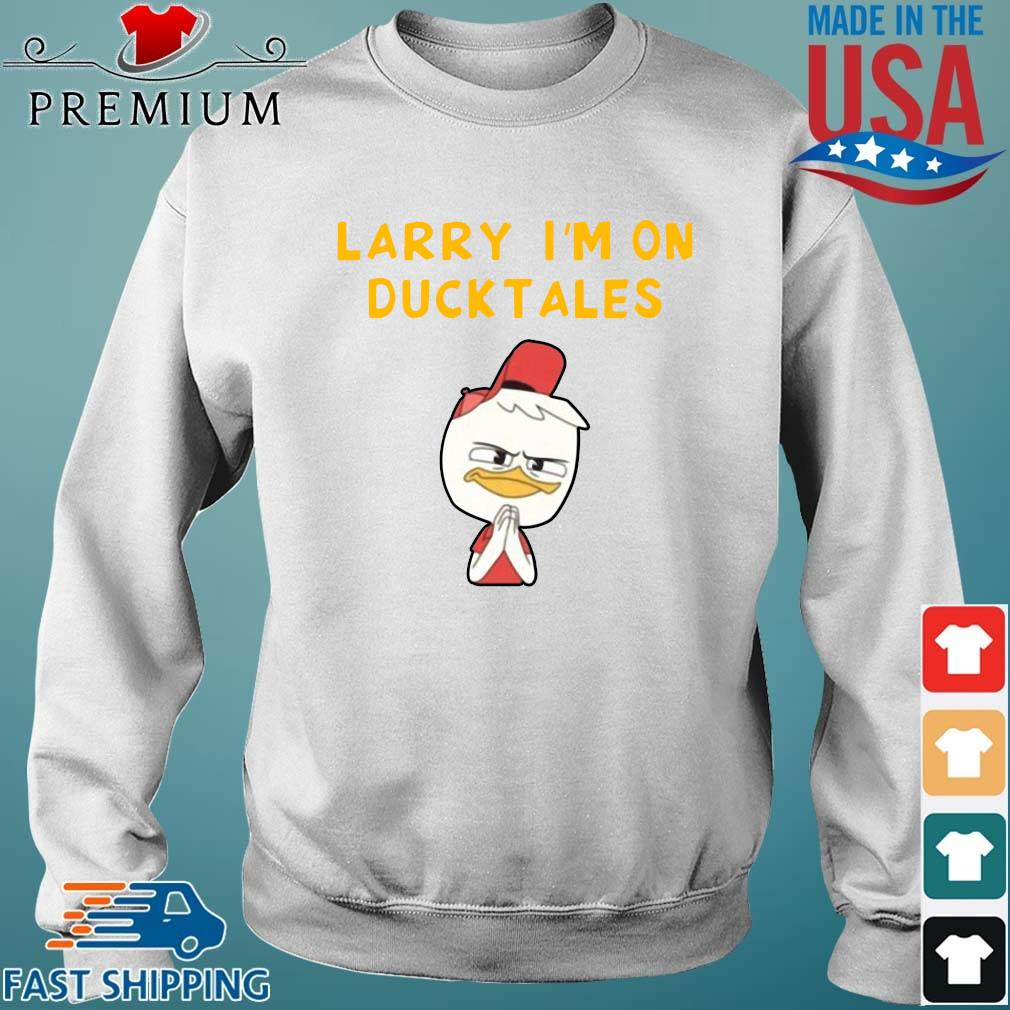 Funny Larry I'm on duck tales Sweater trang