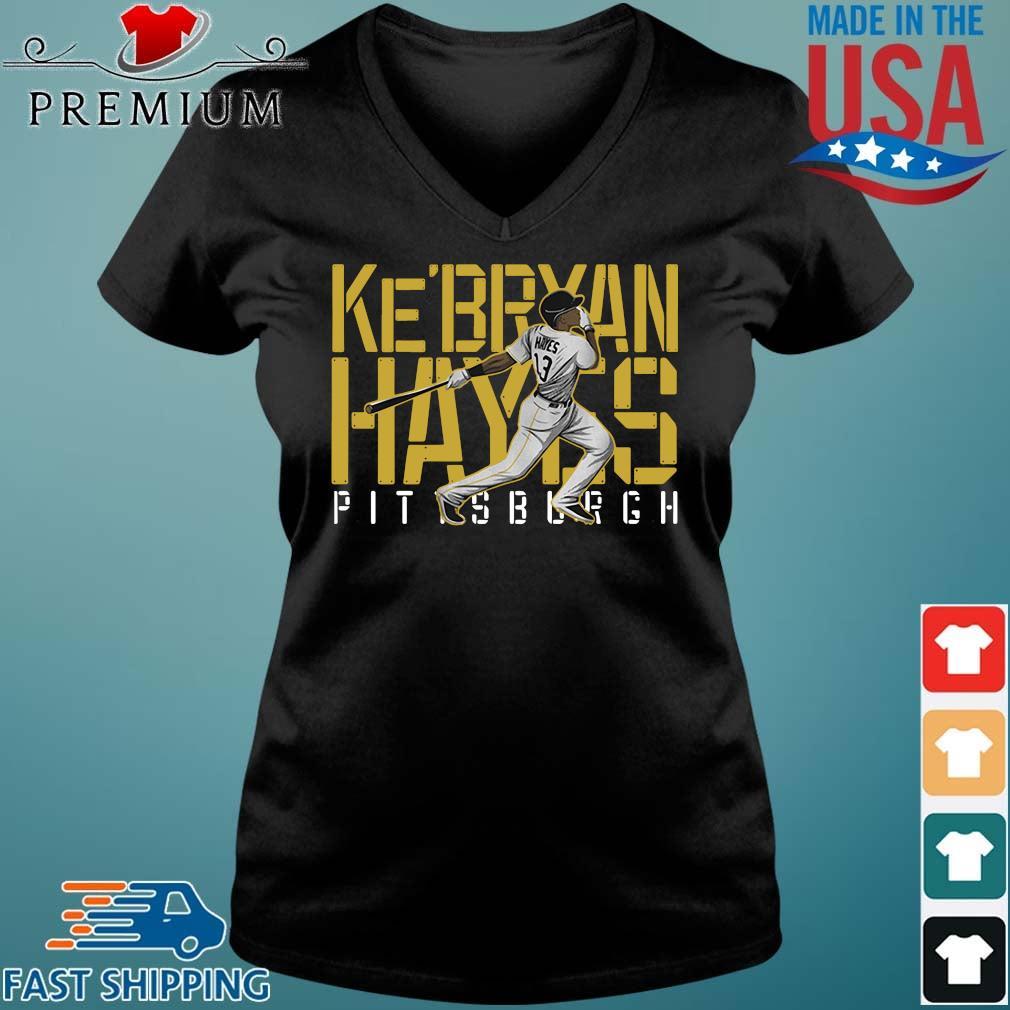 Ke'bryan Hayes Pittsburgh Baseball 2021 Shirt Vneck den