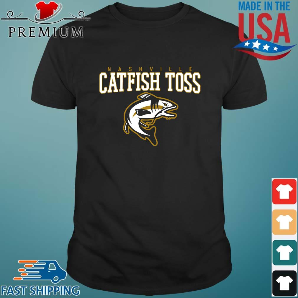 Nashville catfish toss shirt