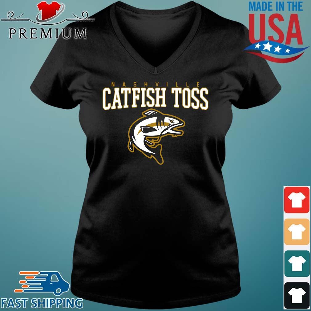 Nashville catfish toss Vneck den