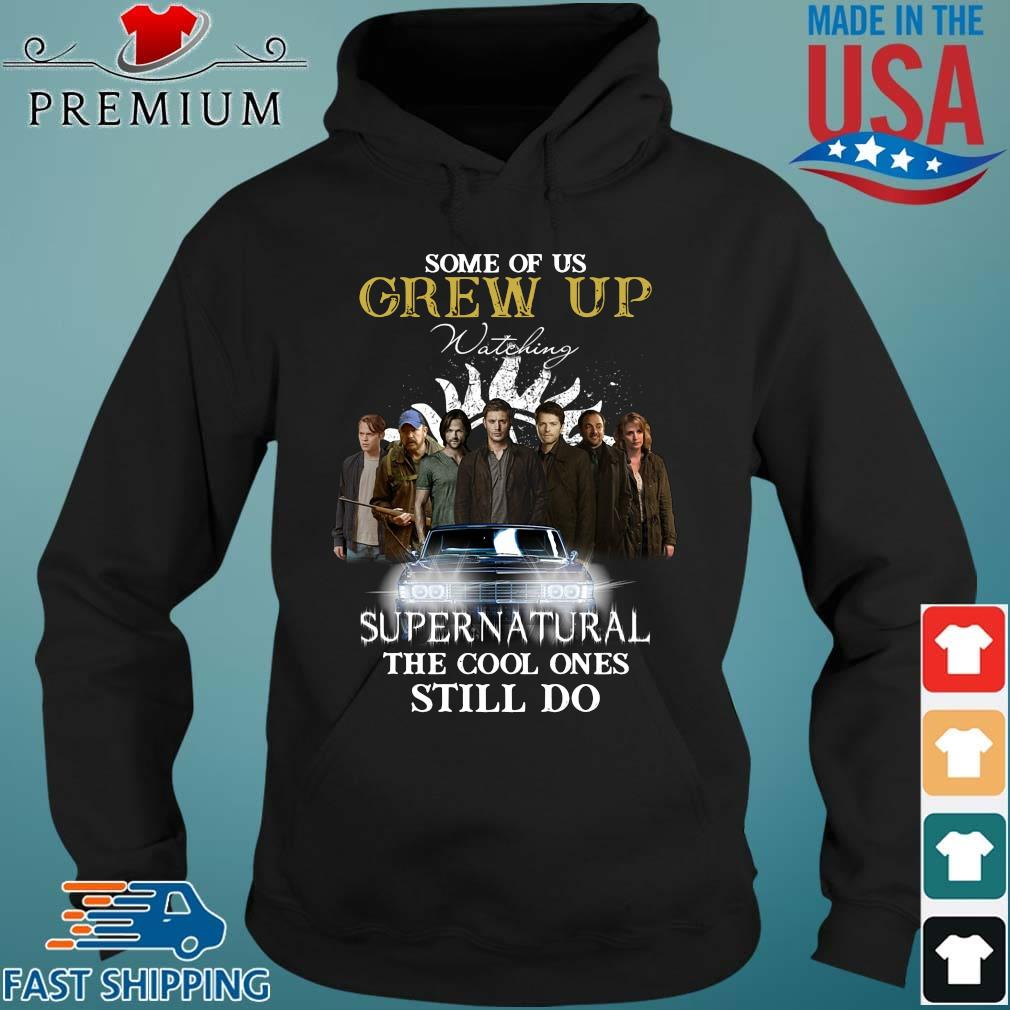 Some of us grew up watching Supernatural the cool ones still do Hoodie den