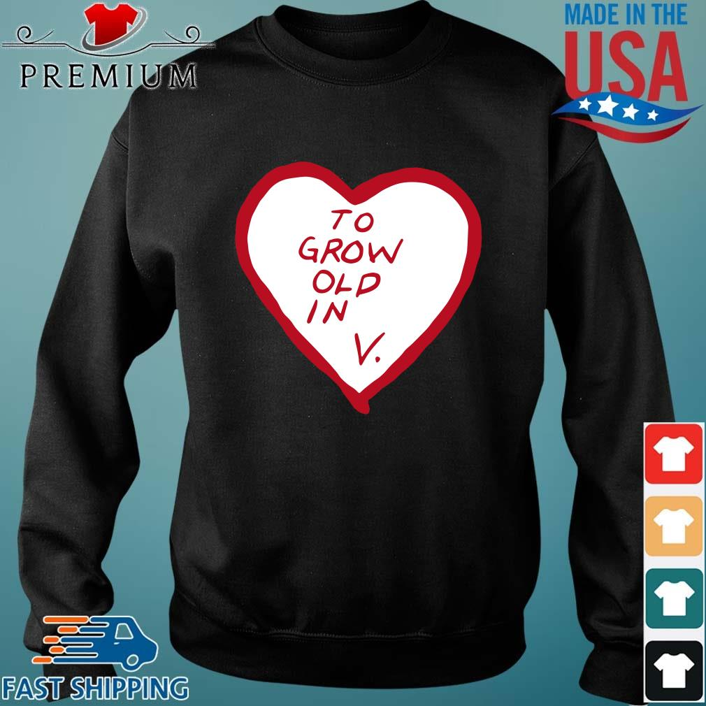 To grow old in heart Sweater den