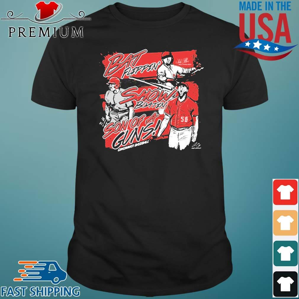Bat Flippin Show Boatin Son Of A Guns Shirt
