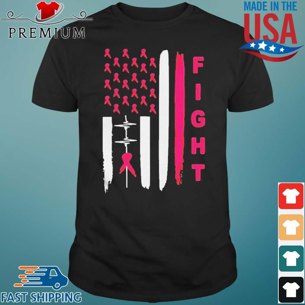Heartbeat Fight Breast Cancer shirt