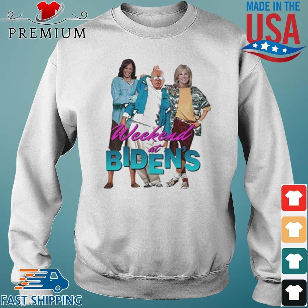 Weekend At Bidens Shirt Sweater trang