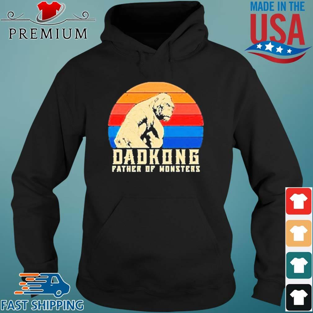Dadkong Father Of Monsters Vintage Shirt Hoodie den