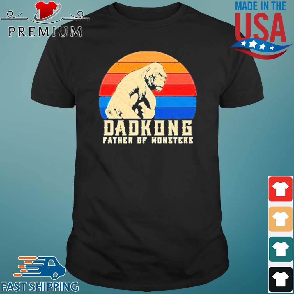 Dadkong Father Of Monsters Vintage Shirt