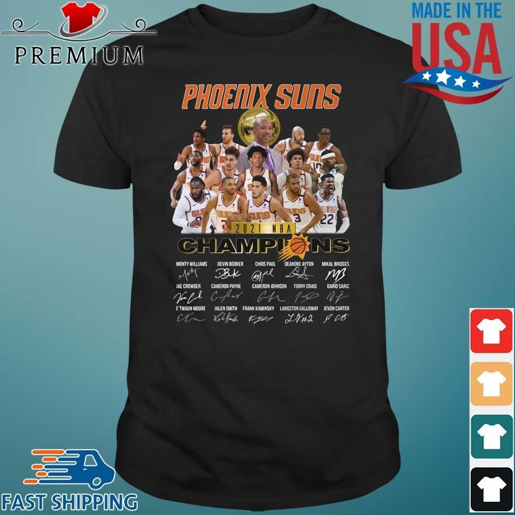 Premiumt-shirt - Phoenix Suns 2021 NBA Champions ...