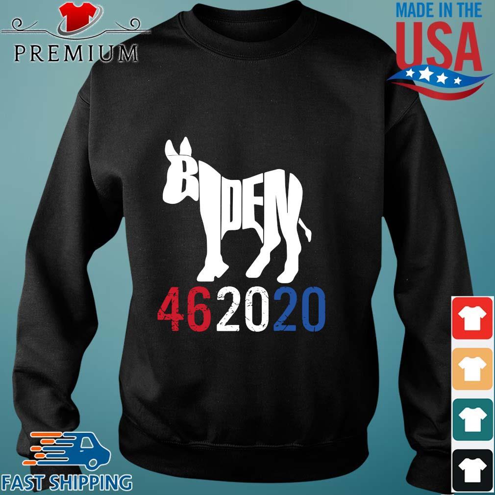 Donkey Joe Biden 46 20 20 red white blue s Sweater den