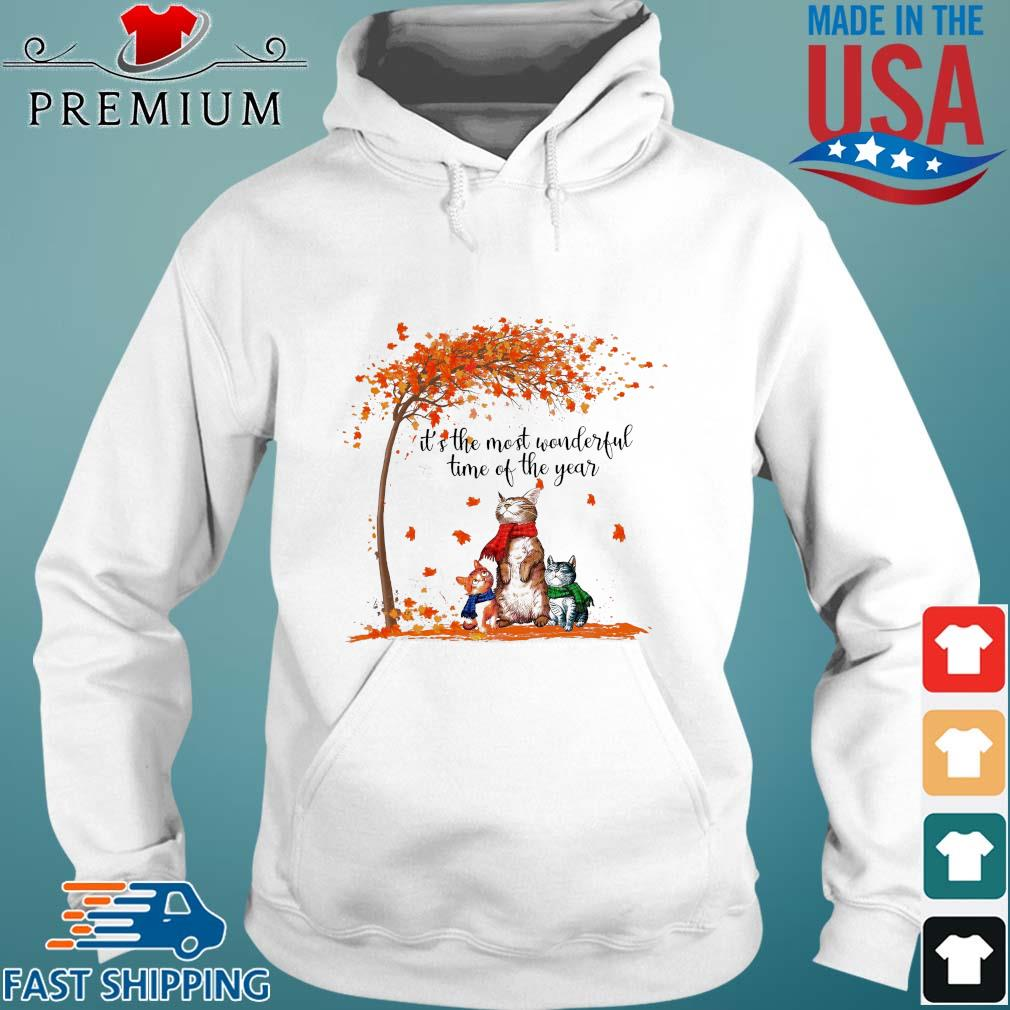 Cats it's the most wonderful time of the year Halloween s Hoodie trang