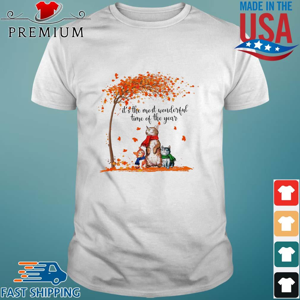 Cats it's the most wonderful time of the year Halloween shirt