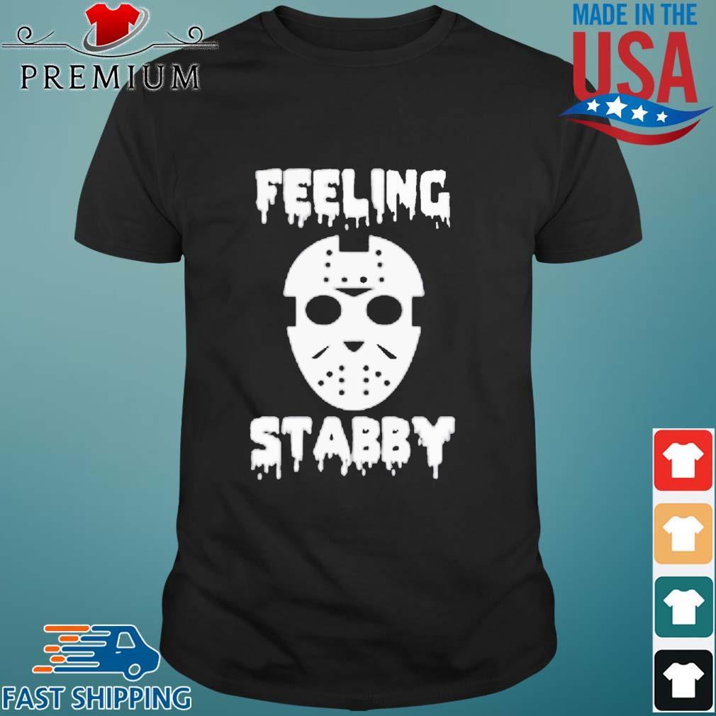 Jason Voorhees feeling stabby Halloween shirt