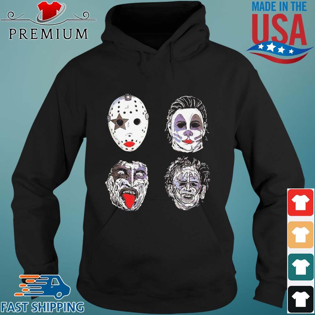 Jason Voorhees Michael Myers Captain Spaulding and Scary Freddy Krueger Halloween s Hoodie den