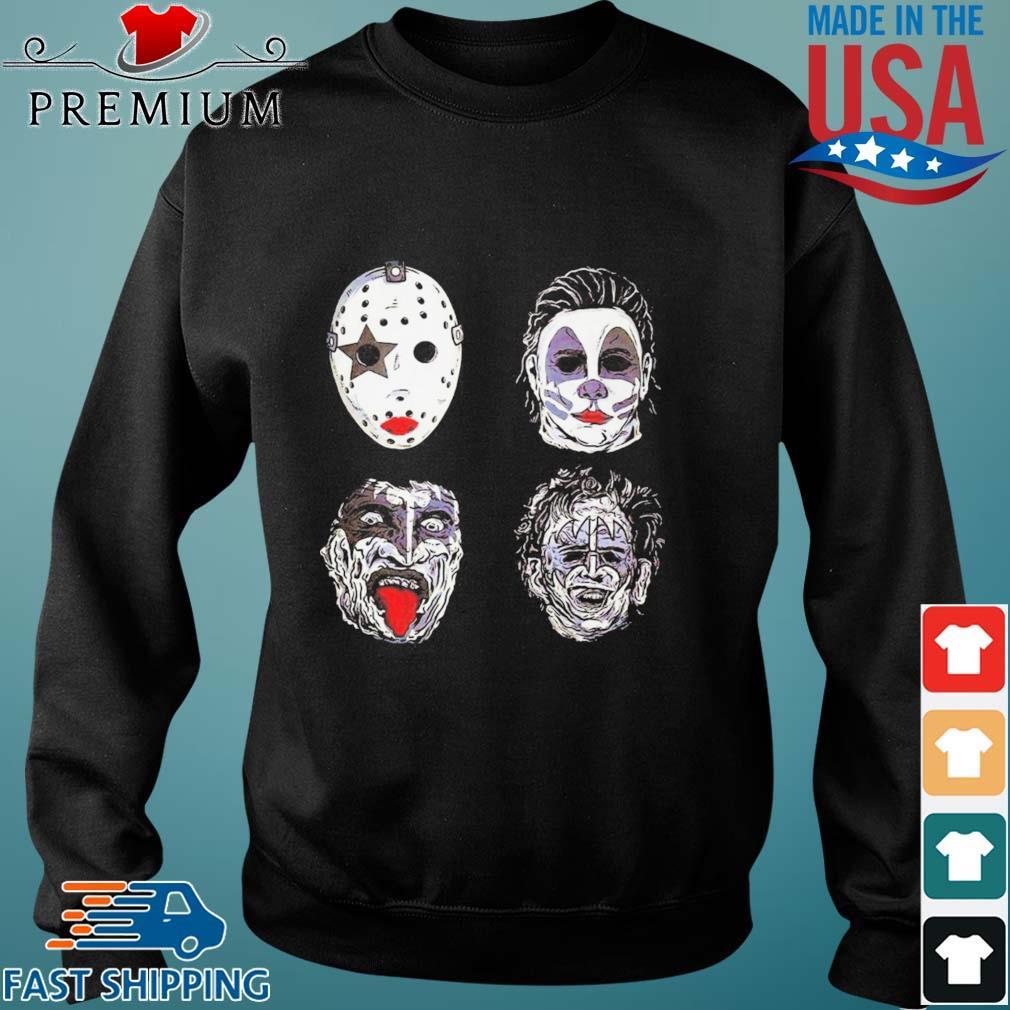 Jason Voorhees Michael Myers Captain Spaulding and Scary Freddy Krueger Halloween s Sweater den