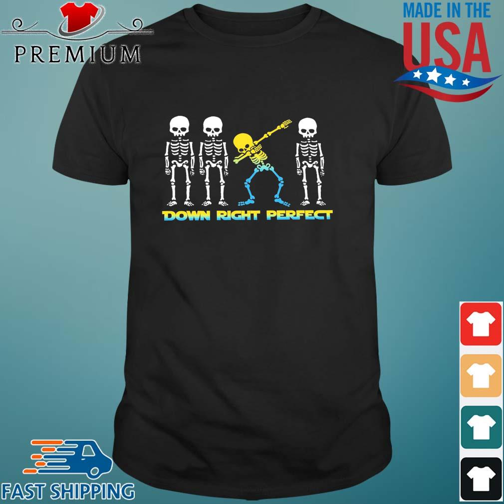 LGBT Skeletons down right perfect shirt