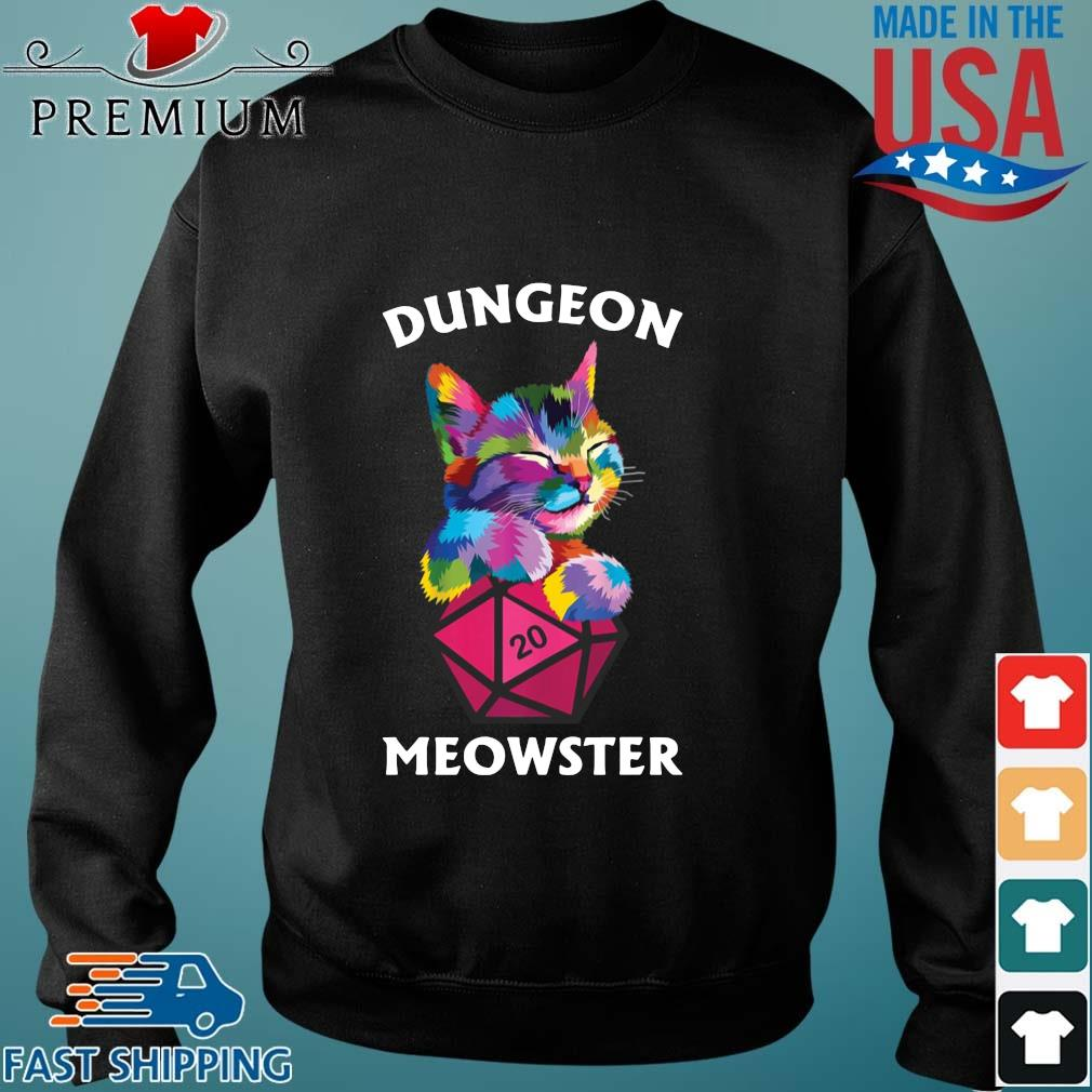 Cat colorful meowster shirt